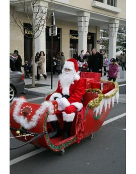 Le traîneau du Père-Noël