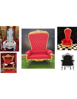 location de trônes