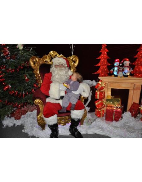 Les photos avec le Père-Noël