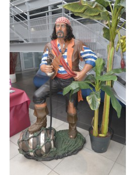 Location statue pirate