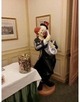 Location statue Clown