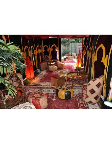 Location de poufs marocains