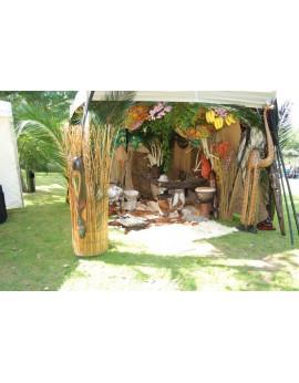 Location décors Jungle - Safari - Afrique - Koh Lanta