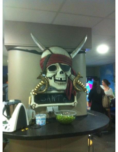 Location tête de mort Pirate