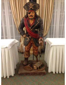 Location statue Pirate - Capitaine Crochet
