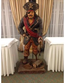 Location statue Pirate - Capitaine Crochet