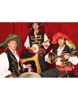Musiciens Pirates