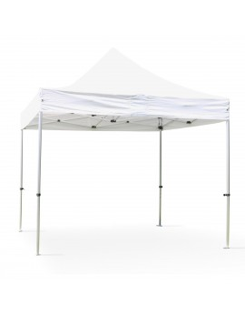 Location de tente de réception pliable 3m x 3m - 9m²