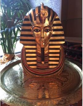 Statue buste Pharaon Toutankhamon