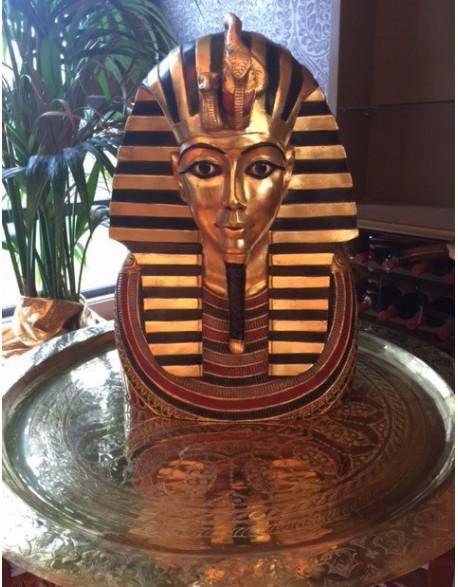 Location statue buste Pharaon Toutankhamon