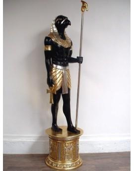 Location statue Horus sur socle