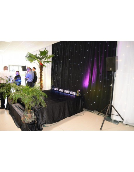 Location et installation estrade, scène modulable, podium
